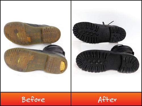 Dr Martens boots repair