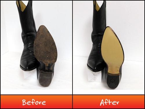 Justin Boot repair