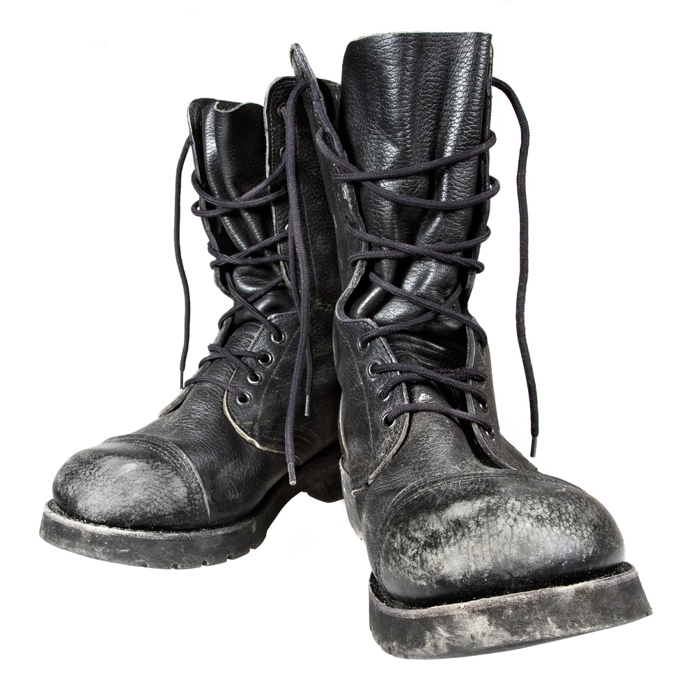 Worn-Out Dr. Martens Boots