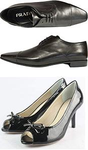 Prada shoe repair